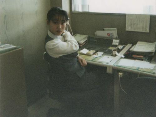 川西阪急で電話交換手と店内放送をしていました